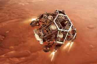 Life on Mars? A&M researchers take part in  rover's search for indications