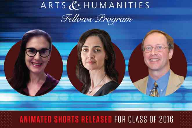 Animated shorts celebrate work of 3 Texas A&M Arts & Humanities Fellows