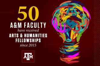 Texas A&M awards 2021 Arts & Humanities Fellowships to 10 faculty members